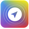 Aura app icon rounded